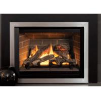 Best Classic Designed Direct Vent Gas Fireplace Remote Control Big Front View wholesale