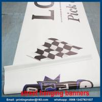 Best Outdoor Double Sided Print Advertising PVC Vinyl Banner wholesale