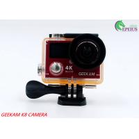 Best 14MP Waterproof Action Camera Panasonic CMOS With Aluminium Alloy Front Cover HDMI Wifi wholesale