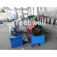 Best Metal Stud And Track Roll Forming Machine , Sheet Metal Roll Former For Roof Truss wholesale