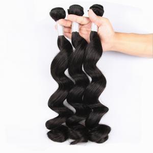 Best Unprocessed Virgin Human Hair Bundles Loose Deep Wave Human Hair Weave For Black Woman wholesale
