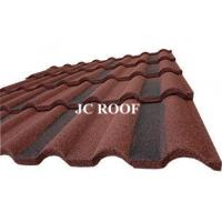 Best Galvalume Alu - Zinc Roofing Materials Stone Chip Coated Metal Roof Tiles wholesale