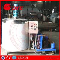 Best Dairy Stainless Steel Milk Tank With Cooling System Control Panel CE certificated wholesale