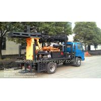 Best 200m Depth 10.5 - 24.6bar KW20 Truck Mounted Water Well Drilling Rigs CE wholesale