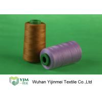Cheap Z Twist / S Twist Polyester Sewing Thread , Customized Color Ne 20s to Ne 60s for sale