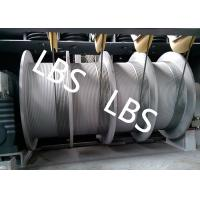Best Wire Rope Electric Windlass Winch For Building / Construction Wipe Wall Crane wholesale