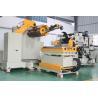 20m/min Feeding Speed Uncoiler Machine ,  Pressing Arm Automatic Straightening Machine
