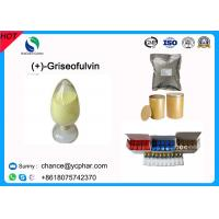 Buy cheap 99% Purity Griseofulvin/(+)-Griseofulvin Antifungal Drugs Powder CAS 126-07-8 from wholesalers