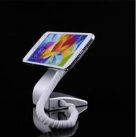 Best COMER anti-theft devices L-shape silver Super slim store secure mobile cell phone retail display stand wholesale