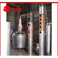 Best Manual Copper Distiller Machine , Brandy Distillation Equipment wholesale