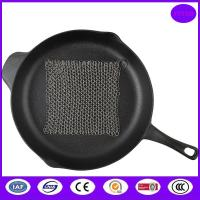 Buy cheap stainless steel wire pot and pan scrubber from wholesalers