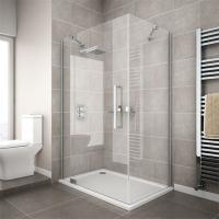 Best china supplier cheap corner compact simple tempered glass shower enclosure wholesale