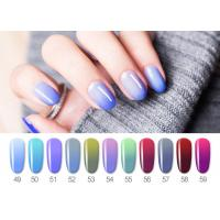 Best Healthy Resin Materials Color Changing Gel Polish / Uv Gel Nail Paint wholesale