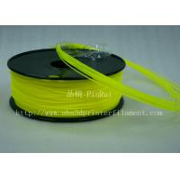 Best Yellow HIPS 3d Printer Filament 1.75 , material for 3d printing Markerbot , RepRap wholesale