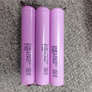 Best 3.7V 3000mAh 18650 Lithium Ion Rechargeable Battery For Flashlight wholesale