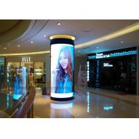 China Good View Indoor P3 Custom LED Display Full color Curved Led Sign Module in Shopping Center on sale