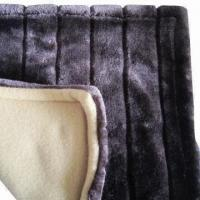 Buy cheap Faux fur blanket, available in size of 150 x 200cm from wholesalers