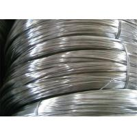 Best Q195 Low Carbon Galvanized Zinc Coated Steel Wire For Binding / Nail Making wholesale
