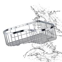 Best Bathroom Accessory Corner Basket Shelf Stainless Steel Easy Installation wholesale