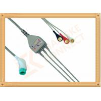 Buy cheap Nihon Kohden ECG Patient Cable 11 Pin 3 Leads Snap AHA Insulated Type from wholesalers