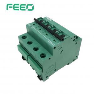 Best Flame Retadance Shell 1000VDC 4P Miniature Circuit Breaker wholesale