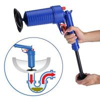 China Home Office Toilet Floor Drain Tubs Sinks Air Power Plunger Blaster Pump Cleaner on sale