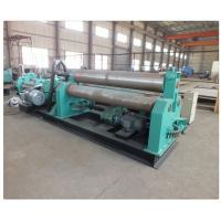 Cheap Plate Bending Machine Three Hydraulic Motors Thickness 15~100mm Roll Forming Machinery for sale