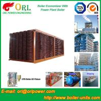 Best Electrical Water CFB Boiler Economizer Power Plant , Steam Boiler Economizer wholesale