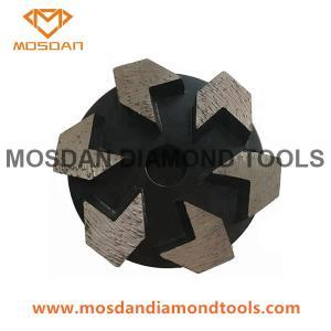 Best 3 inch 5 Arrows Grinding Plug Segments wholesale