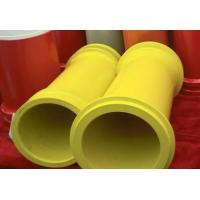 """Quality DN175(7"""") Heat Treating Concrete Pump Hardened Pipe With FM / ZX Flange wholesale"""
