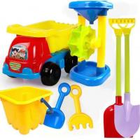 Best 2020 Hot Sale Outdoor Sandbeach Toys Bucket Shovel Toddler Kids Children Beach Sand Toy Set Kids Plastic Beach Toys wholesale