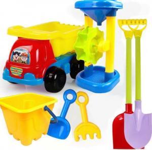 Best 2020 Hot Sale Outdoor Sandbeach Toys Bucket Shovel Toddler Kids Children Beach Sand Toy Set Kids Plastic Beach Toys wholesale