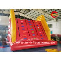 Best Giant Adult Inflatable Climbing Wall With Mattress , Inflatable Climbing Mountain wholesale