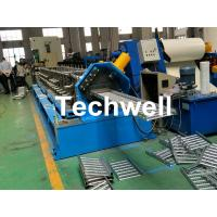 Best Galvanized Steel Cable Tray Roll Forming Machine With 18 Stations Forming Roller Stand wholesale