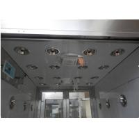 Cheap S Type Automatic Walkable Cleanroom Air Shower / Air Shower System for sale