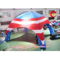 8mdia USA  FLAG   inflatable spider/ dome tent