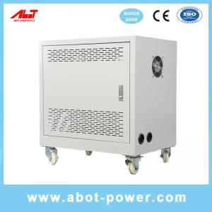 Best ABOT 3 Phase to 3 Phase 220V to 380V Pure Copper Step Up Isolation Transformer 50KVA wholesale