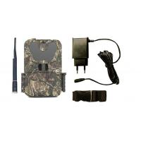 Wildlife Motion Sensor Camera WIth Mounting Strips , Remote Trail Camera Linked To Cell Phone