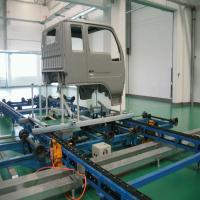 Plastic Component Automatic Line Painting Equipment For Motorcycle