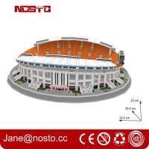 Best 3D puzzle stadium construction kits football stadium model Fun & Educational Toys wholesale