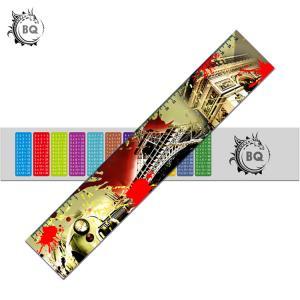 Best PET PVC 3D Lenticular Ruler Flip EEffects With 0.9mm PET Non Toxic wholesale