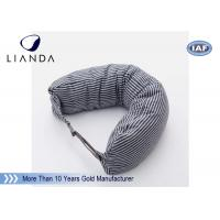 Best Car Accessories Gray Neck Travel Pillow , Memory Foam Head Pillow With Different Color wholesale