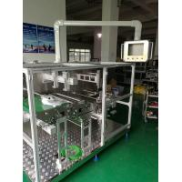 Quality Powerful Non Woven Mask Making Machine Taiwan Delta PLC System , Folding Rate Very Low wholesale