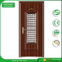 Best CE approved steel bedroom door safety steel entry door with competitive price wholesale