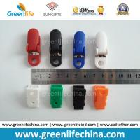 Best Custom Colours Fashion Plastic Office ID Badge Clips Good Fastener Clip Accessory for Holding wholesale