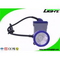 China Explosion Proof 4000 Lux Coal Mining Light with Cable , 22 Hours Working Lighting Time Miner Lamp on sale