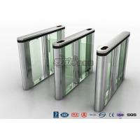 Cheap Entry Control Speed Gate Turnstile , Luxury Speed Stainless Steel Barrier Gate for sale