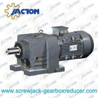 China 50HP 37KW R RX Helical gear reducers units and helical geared motors Specifications on sale