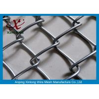 Best Wire Iron Dark Green Chain Link Fence PVC Coated for Football Playground wholesale