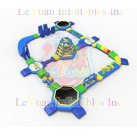 Best Commercial Pool Inflatable Water Park For 100 People Entertainment wholesale